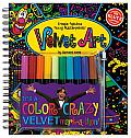 Velvet Art With 10 Tip Markers 10 Pages of Velvet Art