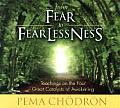 From Fear to Fearlessness: Teachings on the Four Great Catalysts of Awakening (Abridged) Cover