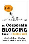 Corporate Blogging Book Absolutely Every