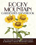 Rocky Mountain Gardener's Handbook Cover