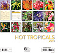 Hot Tropicals 2014: 16 Month Calendar - September 2013 Through December 2014