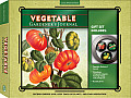 Vegetable Gardener's Journal Gift Set [With Gift Tin and 3 Magnets]