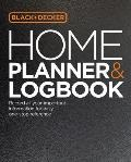 Black & Decker Home Planner & Logbook: Record All Your Important Information for Easy, One-Stop Reference (Black & Decker)