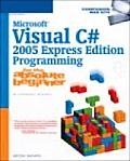 Microsoft Visual C# 2005 Express Edition Programming Absolu Cover