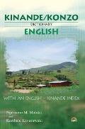 Kinande/konzo-english Dictionary