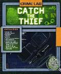 Crime Lab Catch the Thief with Microscope Scanner Tweezers Vials Litmus Paper Book & CD