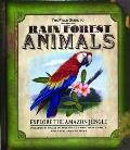 Field Guide to Rain Forest Animals Explore the Amazon Jungle With 51 Piece to Assemble 8 Rain Forest Animals Diorama