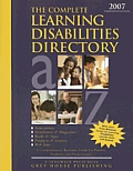 Complete Learning Disabilities Directory (Complete Learning Disabilities Directory)