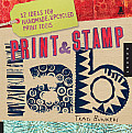 Print &amp; Stamp Lab: 52 Ideas for Handmade, Upcycled Print Tools (Lab) Cover