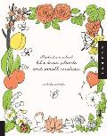 Let's Draw Plants and Small Creatures (Illustration School) Cover