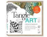 Tangle Art a Meditative Drawing Kit Includes archival pens paper tiles & a beautiful instruction book to get you started