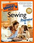 Complete Idiot's Guide to Sewing Illustrated (Complete Idiot's Guides) Cover