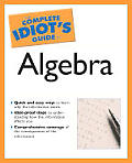 Complete Idiot's Guide to Algebra (Complete Idiot's Guides) Cover