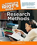 Complete Idiot's Guide to Research Methods Cover