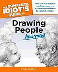 Complete Idiot's Guide to Drawing People Illus Cover