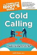 Complete Idiot's Guide to Cold Calling Cover