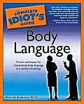 Complete Idiot's Guide to Body Language Cover