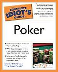 Complete Idiot's Guide to Poker (Complete Idiot's Guides) Cover