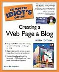 Complete Idiots Guide To Creating a Web Pa 6TH Edition