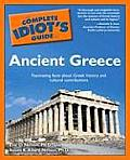 Complete Idiot's Guide To Ancient Greece (04 Edition) Cover