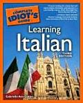 Complete Idiots Guide To Learning Italian 3RD Edition