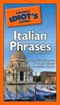 Pocket Idiots Guide To Italian Phrases 2nd Edition