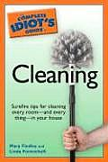 Complete Idiot's Guide to Cleaning (Complete Idiot's Guides) Cover