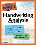 The Complete Idiot's Guide to Handwriting Analysis (Complete Idiot's Guides)