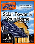 Complete Idiots Guide To Solar Power For 2nd Edition