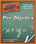 Complete Idiots Guide To Pre Algebra