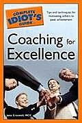 Complete Idiot's Guide To Coaching for Excellence (08 Edition) Cover