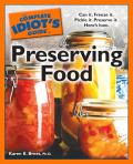 Complete Idiots Guide To Preserving Food