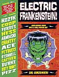 Electric Frankenstein High Energy Punk Rock & Roll Poster Art