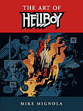 The Art of Hellboy Cover