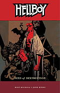 Hellboy #01: Seed of Destruction 2nd Edition Cover