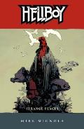 Strange Places (Hellboy) Cover