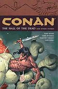 Conan, Volume 4: The Halls of the Dead and Other Stories Cover