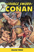 Savage Sword of Conan Volume 3 Cover