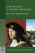 Prince & Other Writings Barnes & Noble Classics Series