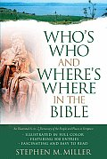 Who's Who and Where's Where in the Bible (Bible Reference) Cover