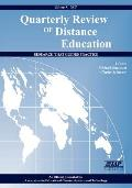 Quarterly Review of Distance Education Volume 8 Book