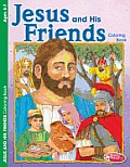 Jesus and His Friends 6pk (Large Print)