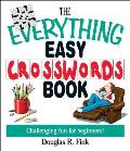 Everything Easy Crosswords Book Challenging Fun for Beginners