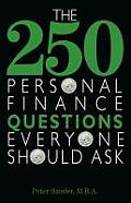 250 Personal Finance Questions Everyone Should Ask