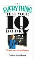Everything Test Your I Q Book Discover Your True Intelligence