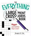 Everything Large Print Crosswords Book Bigger & Better Than Ever