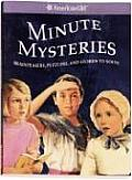 American Girl Library Minute Mysteries Brainteasers Puzzlers & Stories to Solve