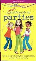 American Girls Smart Girls Guide To Parties