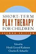Short Term Play Therapy For Children