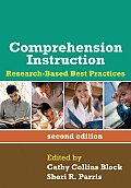 Comprehension Instruction, Second Edition: Research-Based Best Practices (Solving Problems in Teaching of Literacy) Cover